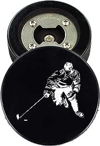 The PuckOpener - Hockey Puck Bottle Opener - Skater