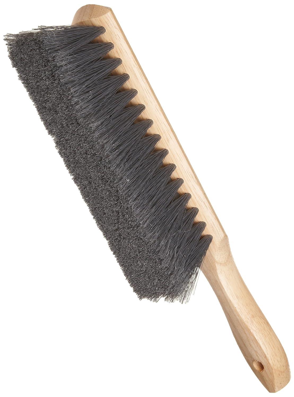 Weiler 44354 Counter Duster, Flagged Silver Polystyrene Fill, Wood Block, 8' Brush Length 8 Brush Length Weiler Corporation