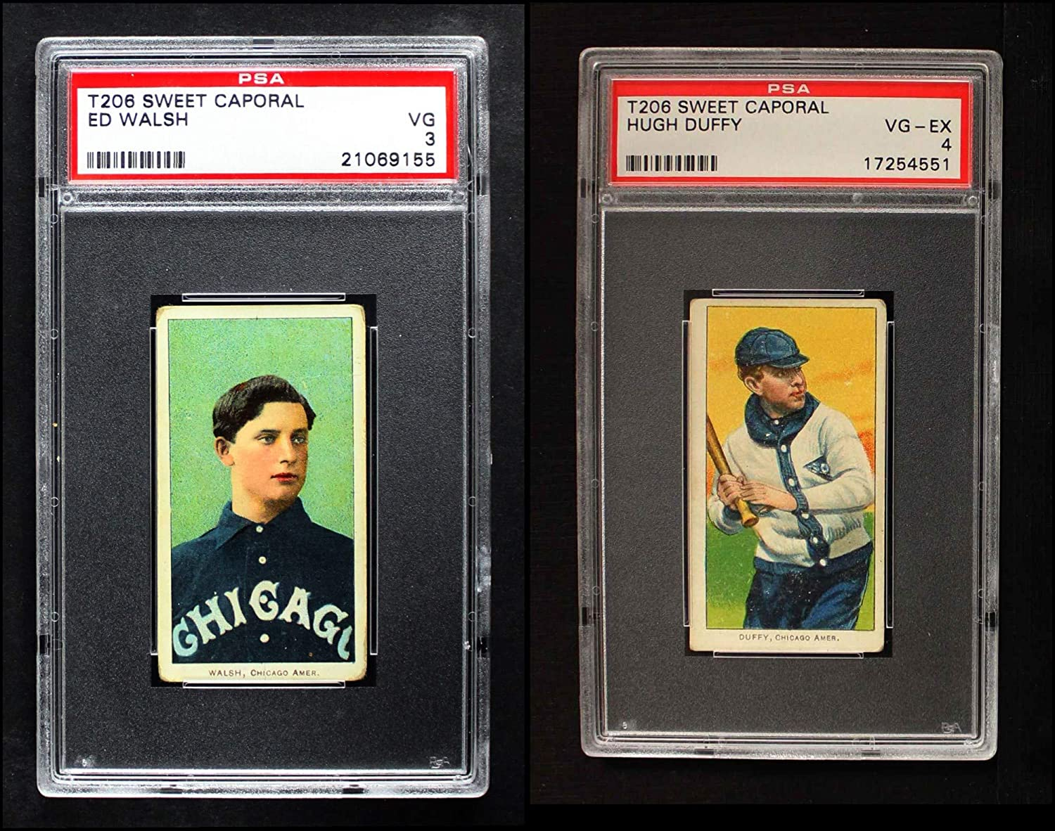1909 T206 Chicago White Sox Team Set Chicago White Sox (Baseball Set) Dean's Cards 3 - VG White Sox