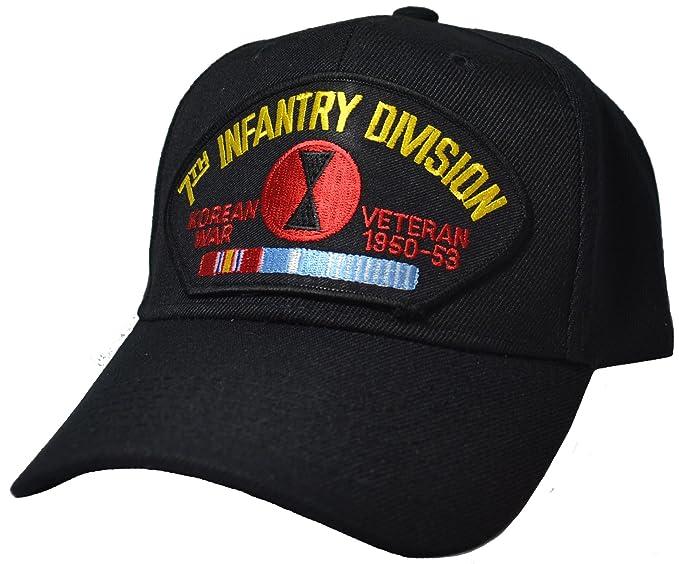 afa996dc904 7th Infantry Division Korean War Cap at Amazon Men s Clothing store