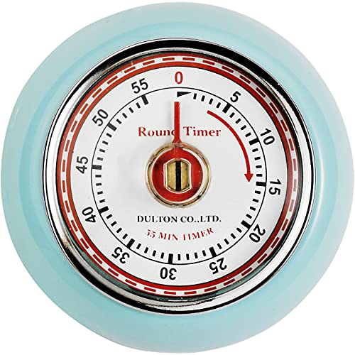 Eddingtons Magnetic Retro Timer Duck Egg Blue