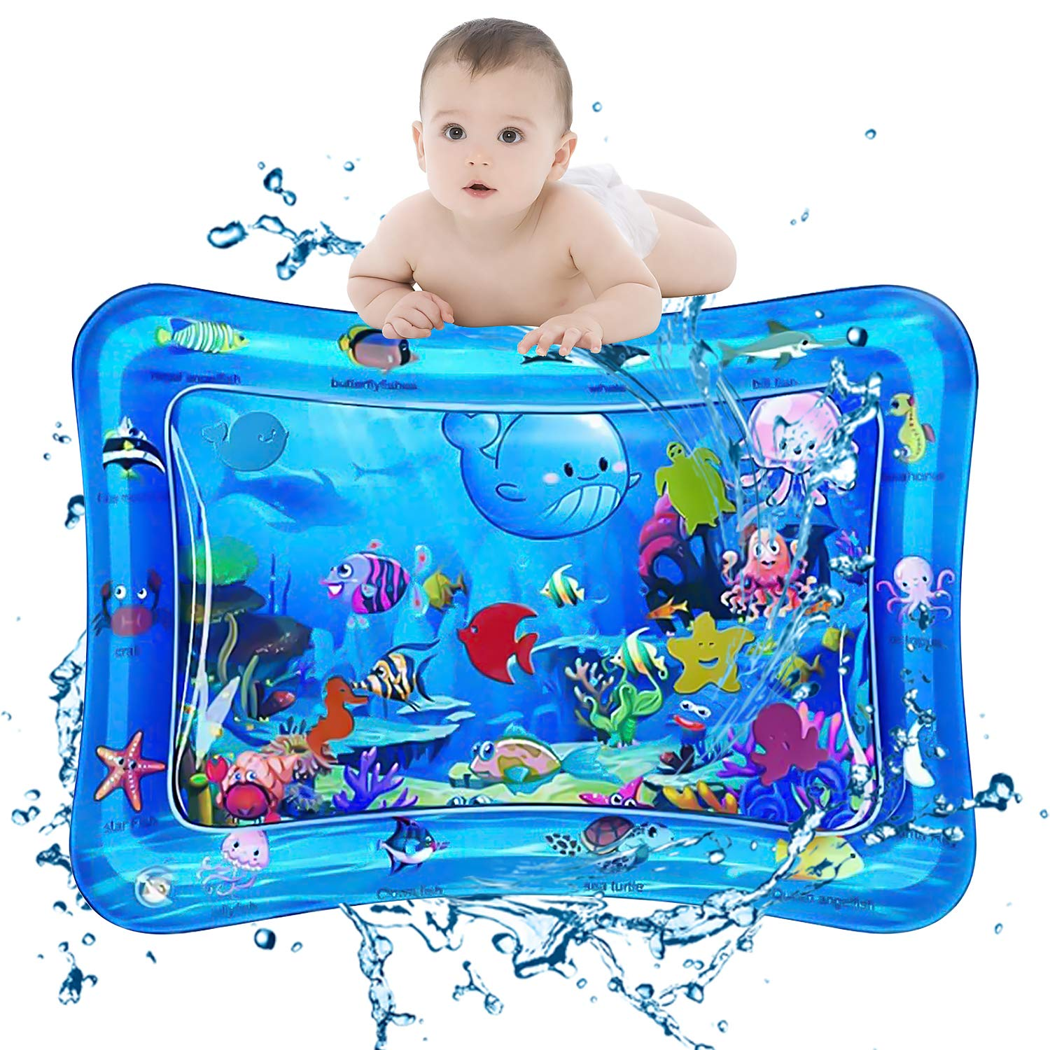 Baby Water Play Mat Water pad for Infants Toddlers Early Development Activities