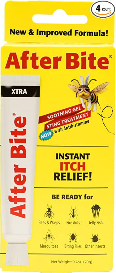 After Bite Xtra Insect Bite Treatment, 0 7 Ounce (Pack of 4)