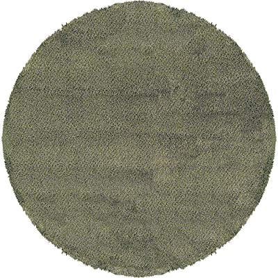 Oriental Weavers Round Area Rug in Green and Blue (6 ft. Dia.)