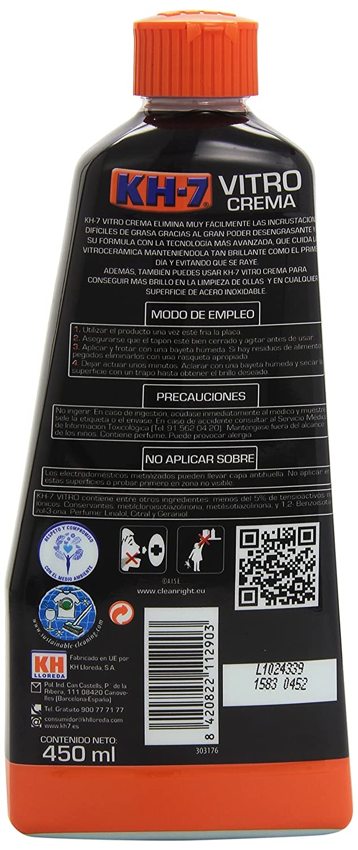 KH-7 Vitro Crema Desincrusta Superficie de Acero Inoxidable - 450 ...
