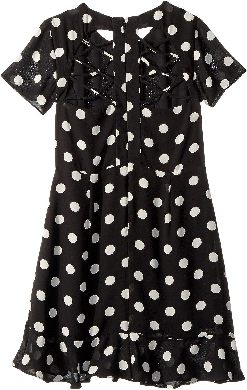 0cd810ce06c0 Amazon.com: Bardot Junior Girl's Kiera Spot Dress (Big Kids) Black/White  Spot 16: Clothing
