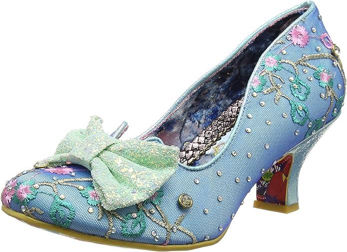 Irregular Choice Dazzle Razzle, Zapatos de tacón Cerrados. para Mujer