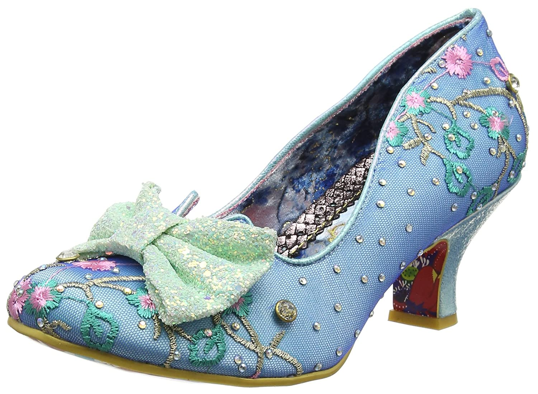 TALLA 38 EU. Irregular Choice Dazzle Razzle, Zapatos de tacón con Punta Cerrada para Mujer