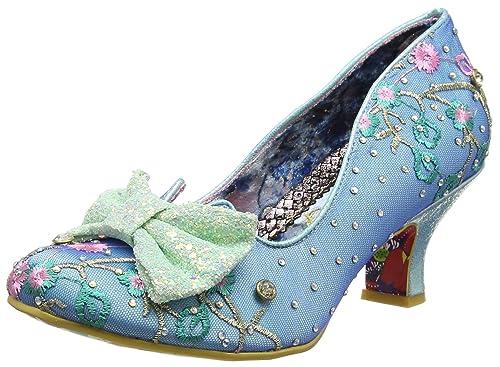 Irregular Choice Womens Dazzle Razzle ClosedToe Heels Blue BlueMint
