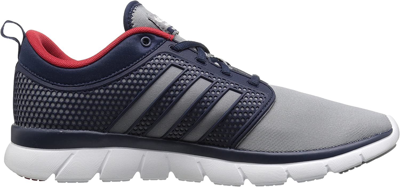 adidas Men's Cloudfoam Groove Rubber Running Shoe