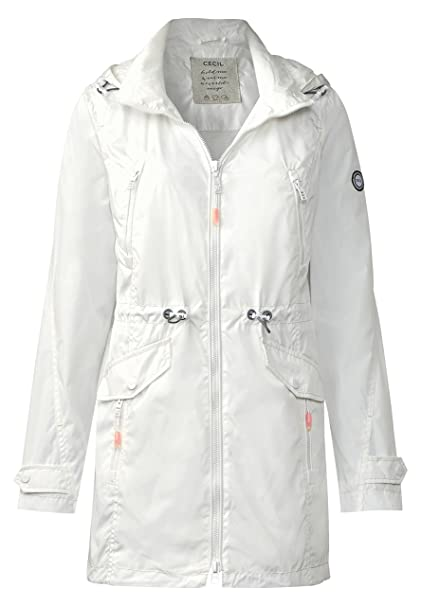 Cecil - Chaqueta - Manga Larga - para mujer Weiß (pure off white) S