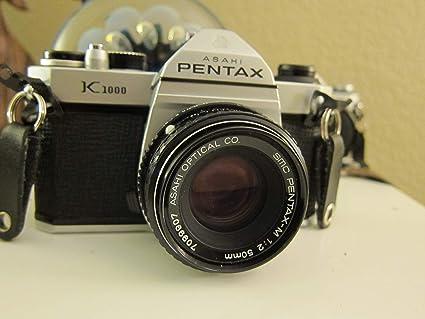 Pentax Cámara K1000 con 50 mm (/ 2.0 f) de la Lente tamaño Completo