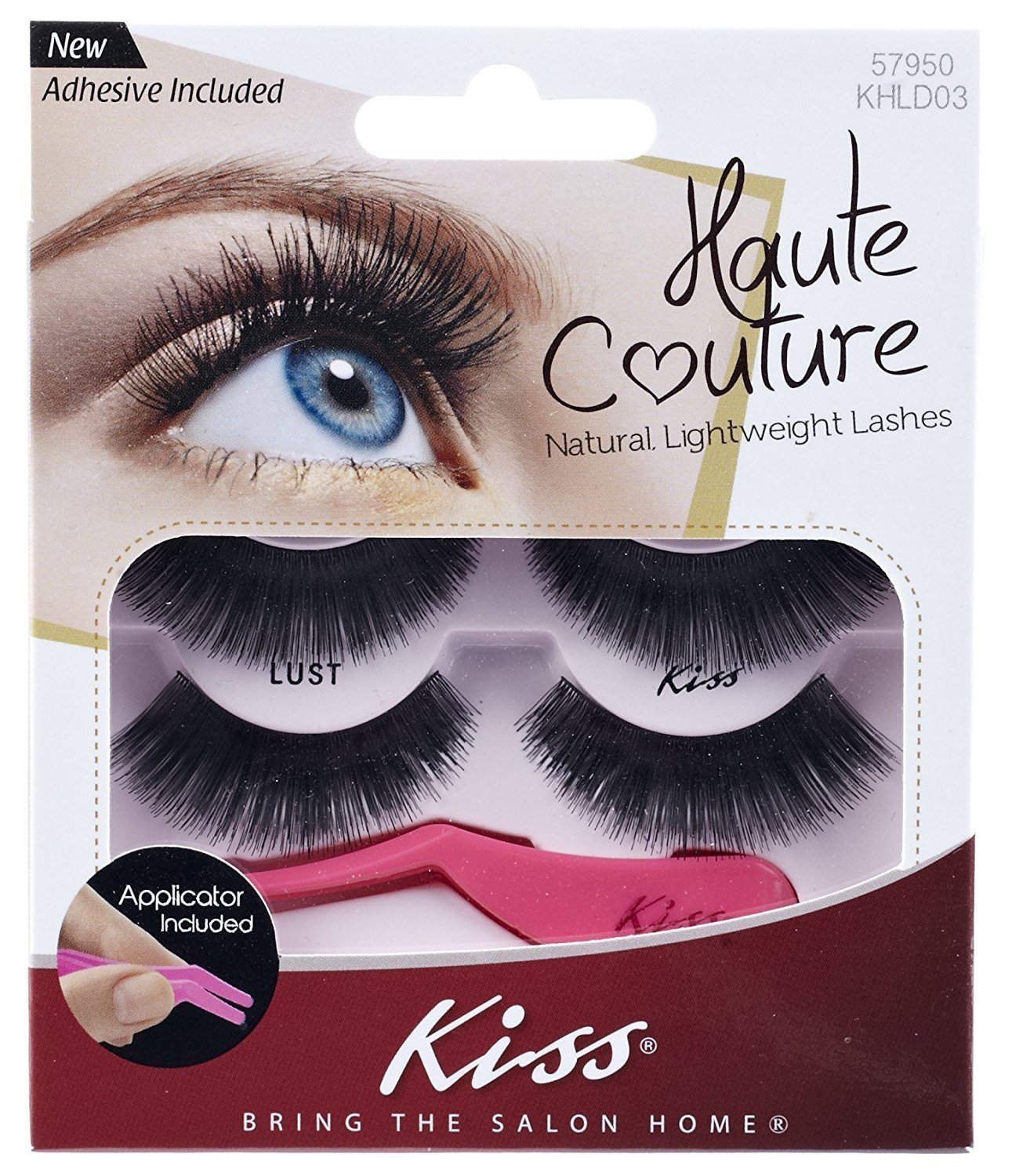 Amazon Haute Couture Kiss Duo Pack Lashes Adhesive Lust Beauty