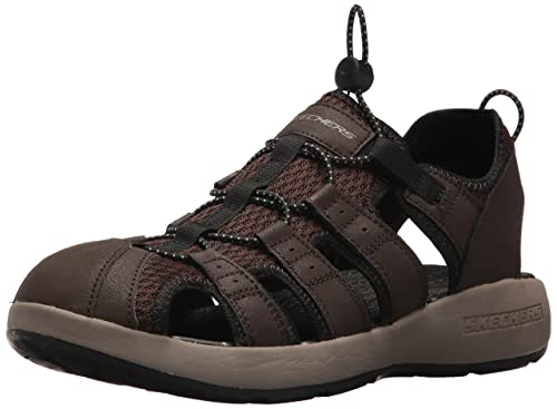 14c53702daa9 Skechers Men s 51834 Open Toe Sandals  Amazon.co.uk  Shoes   Bags