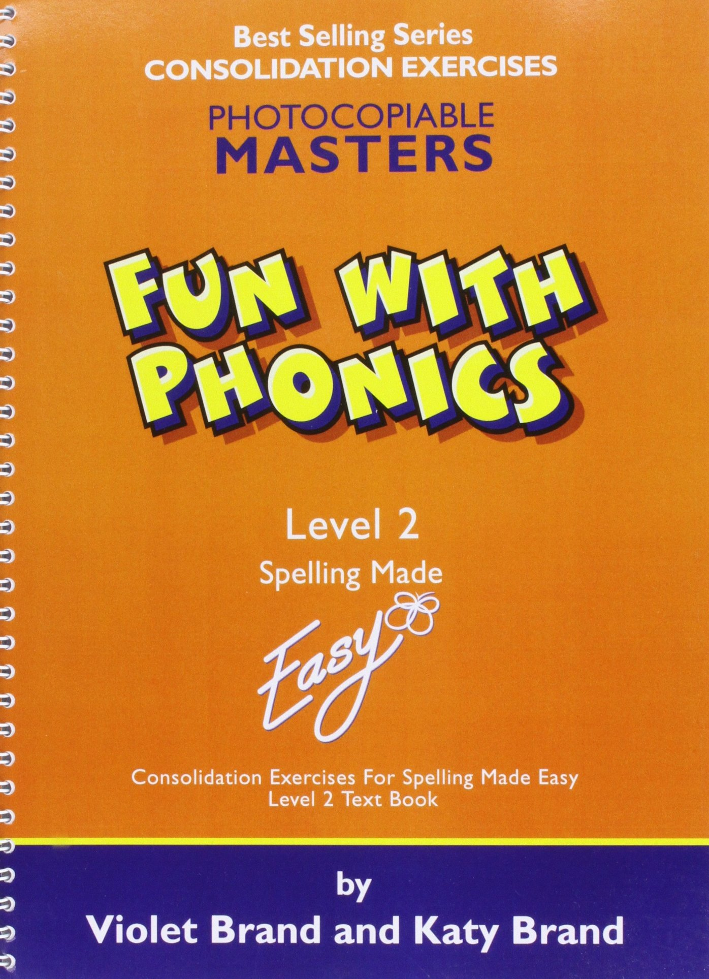 Fun With Phonics Worksheets Level 2 Spelling Made Easy Amazon Co Uk Brand Violet Brand Katy 9781904421160 Books