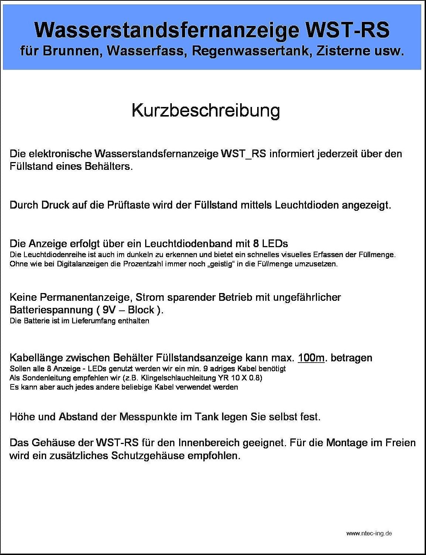 10x Tankinhaltsanzeiger Universeller Füllstandsanzeiger G 1 1//2 Afriso