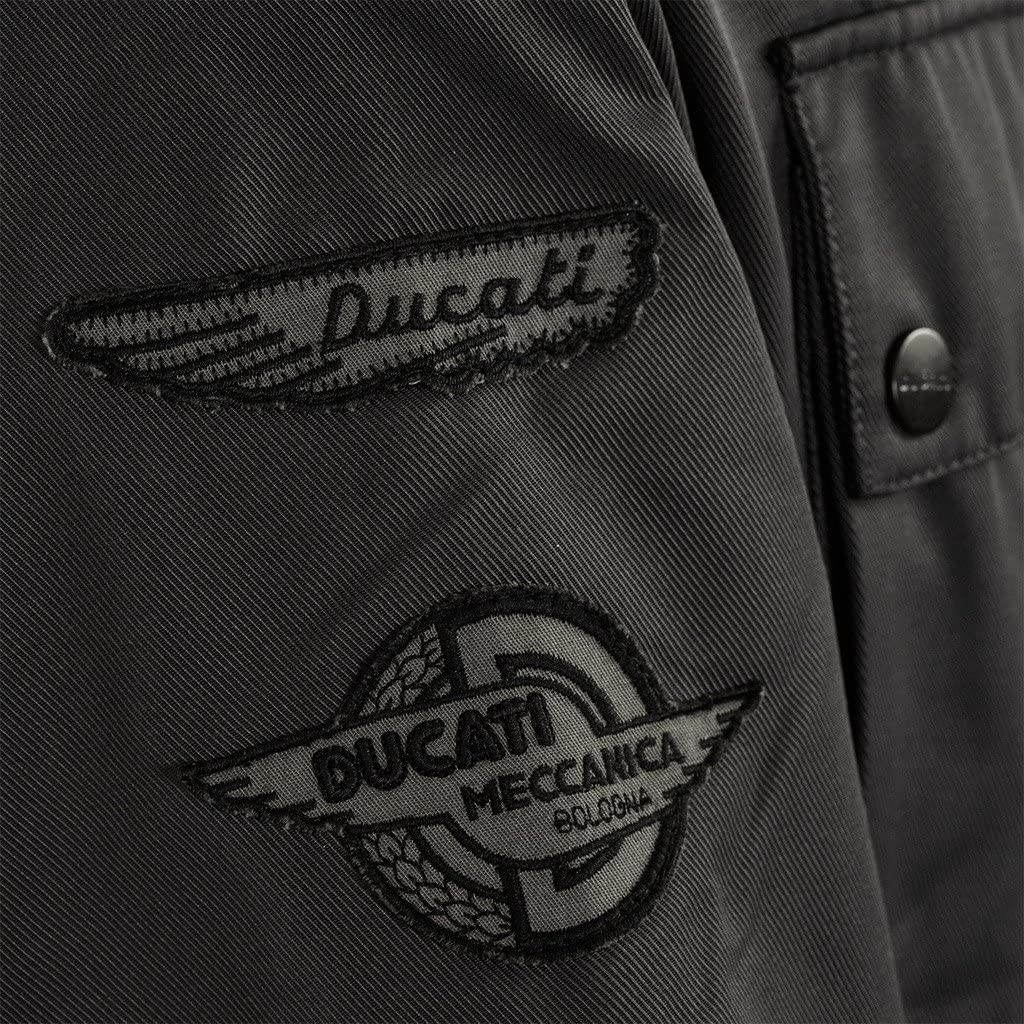 Ducati Mens Historical Textile Jacket X-Small Grey