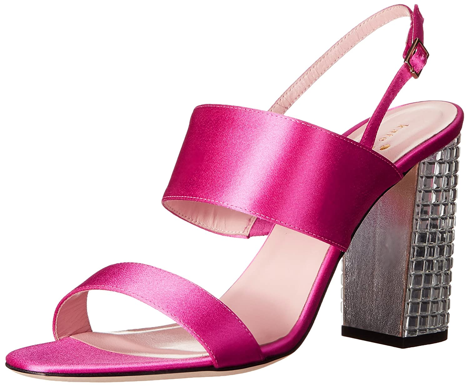Women's Ilsa Hot Pink Glossy Dress Sandals by Kate Spade New York - DeluxeAdultCostumes.com