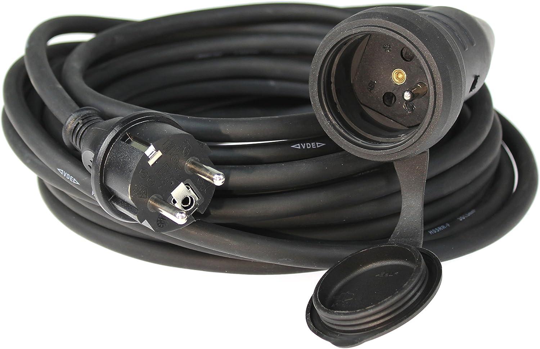 As Schwabe 860305 Verlängerungskabel Ip 44 Verwendung Im Außenbereich 5 M 250 V 16 A Baumarkt