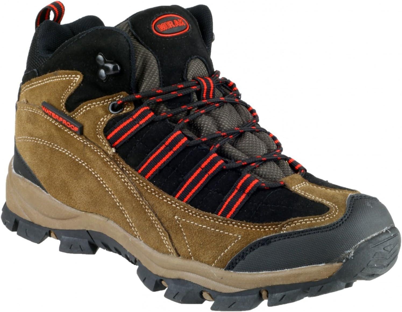 Mirak Kentucky Hiker Mens Hiking Boot Grey/Yellow