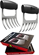 Cave Tools Meat Claws - Stainless Steel Pulled Pork SHREDDERS -