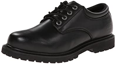 25d7084800d7 Amazon.com  Skechers for Work Men s Cottonwood Elks Slip Resistant ...