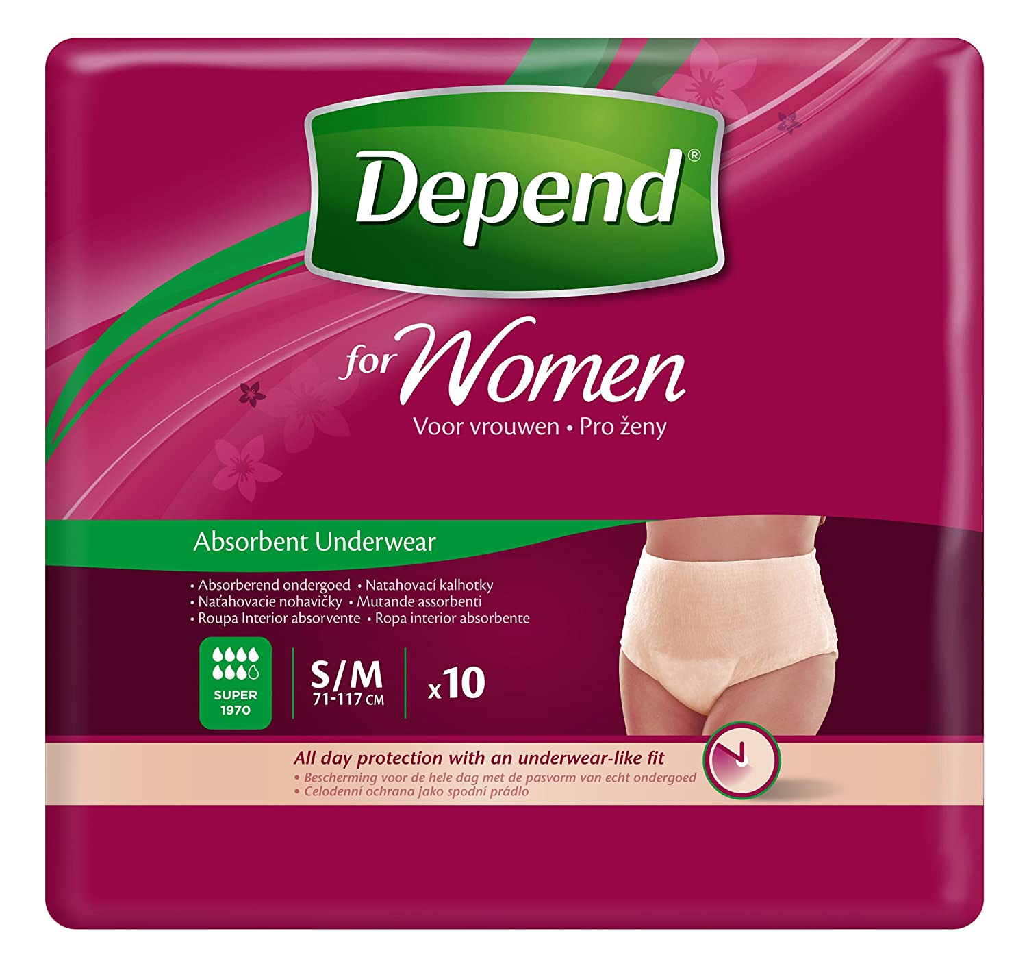 Buy Depend Pull Up Adult Diapers for Women Small/Medium Size - 28-46 inches  Waist (10 Count) Online at Low Prices in India - Amazon.in
