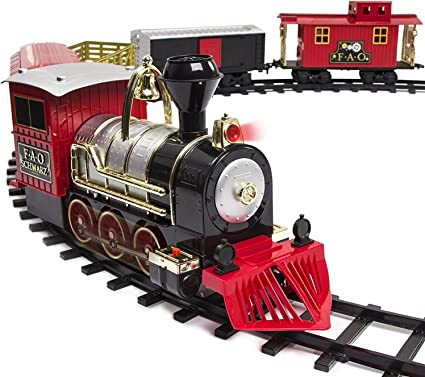 Handmade Electric Train for Kids Baby Boys Girls Toys Gifts Christmas Gifts