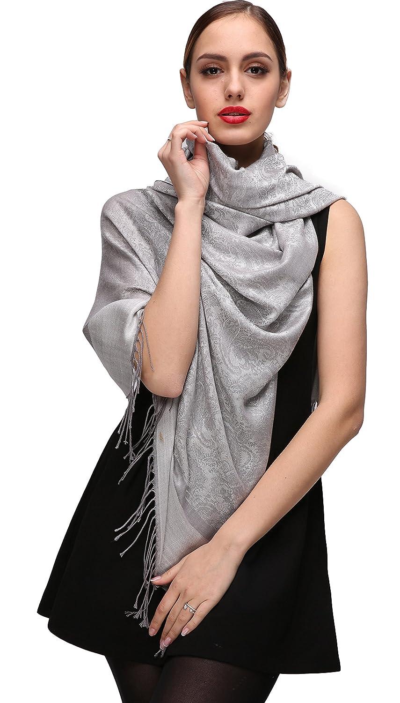 Multicolore Pashmina Scialle sciarpa le donne di seta delle lane delle donne