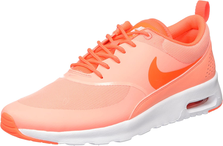 Corresponsal desempleo Indiferencia  Amazon.com | Nike Women's Air Max Thea Low-Top Sneakers, Black | Road  Running
