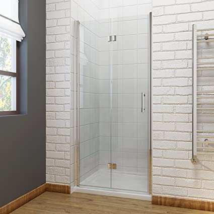 Pleasant Elegant 800 X 1200 Mm Bifold Shower Enclosure Glass Shower Door Reversible Folding Cubicle Door With Shower Tray Download Free Architecture Designs Scobabritishbridgeorg