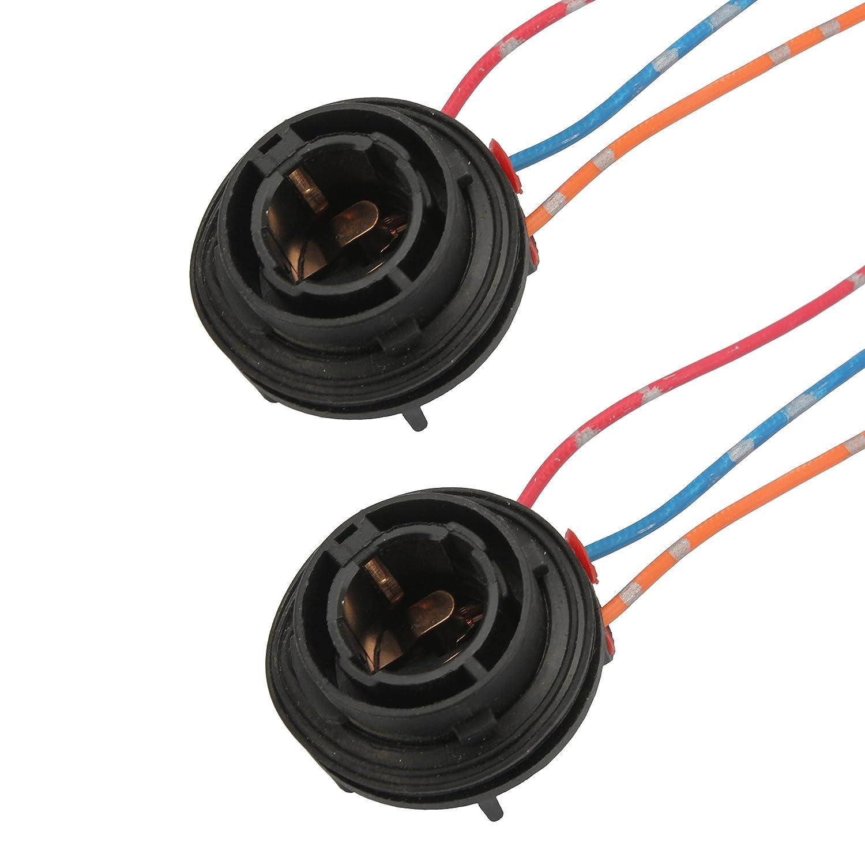 SENZEAL 2 stü cke 1157 Glü hbirnen Sockel Halter BAY15D Auto SMD Licht Buchse Adapter