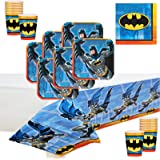 Batman Deluxe Party Supply Pack for 16 Guests.
