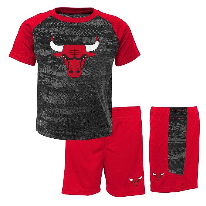 NBA Chicago Bulls-Shorts and T-Shirt Set Conjunto Ropa ...