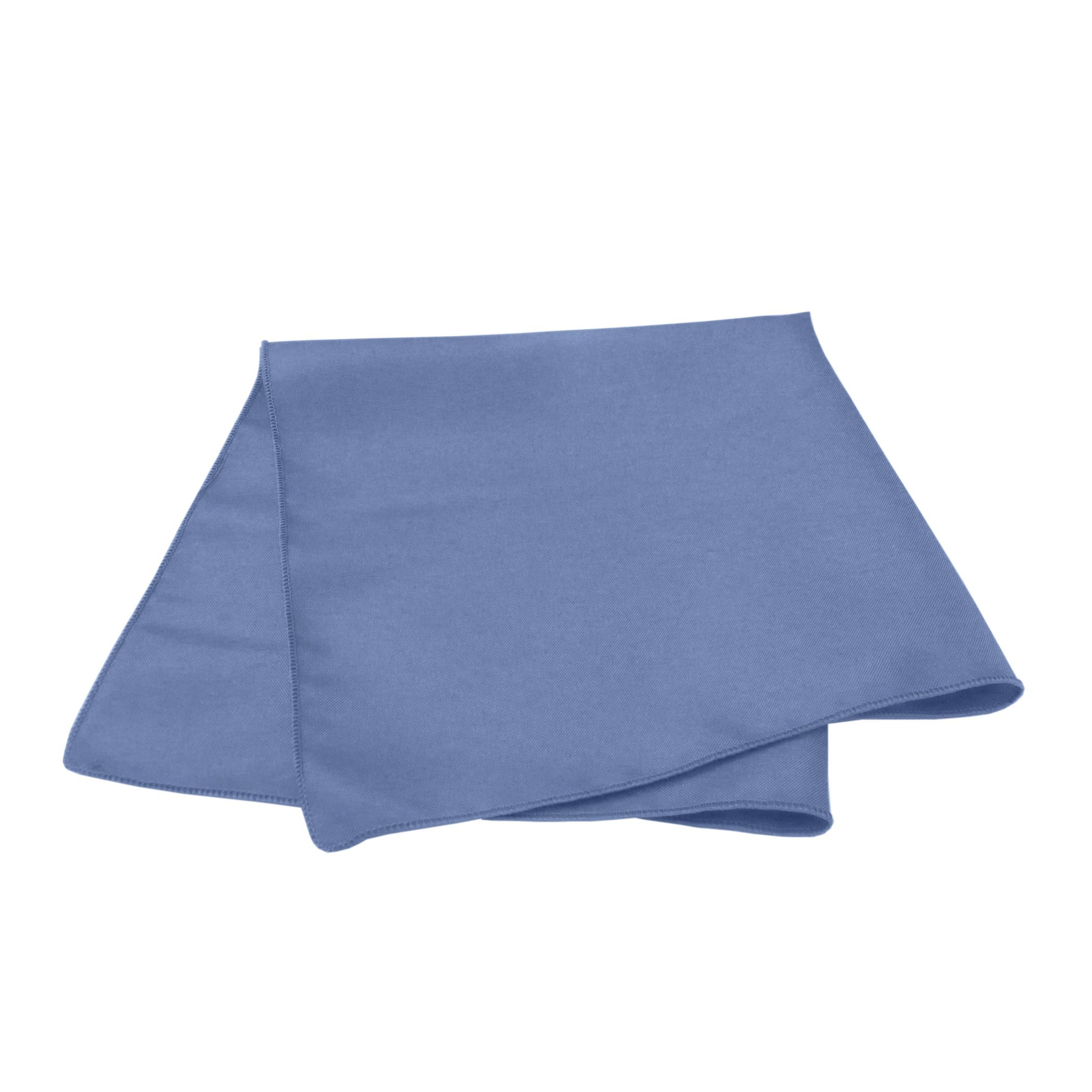 Ultimate Textile -3 Dozen- 10 x 10-Inch Cloth Cocktail Napkins - for Wedding, Restaurant or Banquet use, Periwinkle Blue