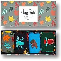 Happy Socks – Gemischt farbenfrohe Geschenkbox an Baumwollsocken für Männer und Frauen