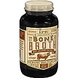 EPIC Beef Jalapeno Sea Salt Bone Broth, Keto Friendly, 14fl oz jar (Pack of 6)