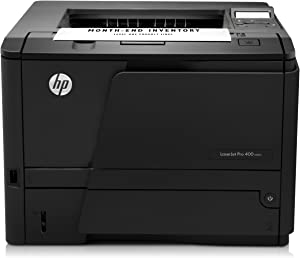 HP LaserJet Pro 400 M401n Monochrome Printer (CZ195A) (Discontinued By Manufacturer),Black