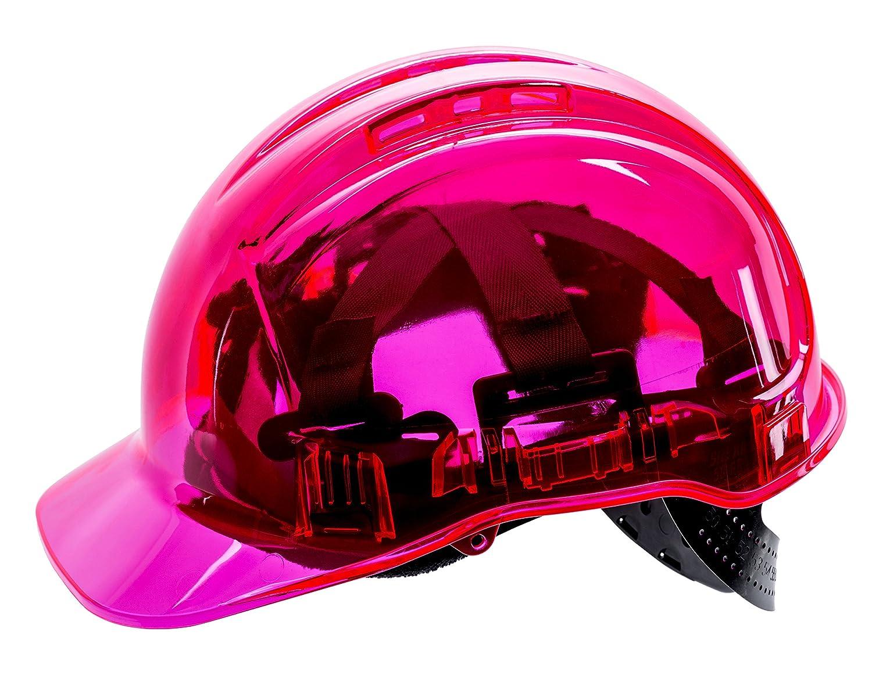 PORTWEST PV50PIR Peak View Plus Schutzhelm, pink, SDT