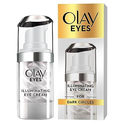 Olay ojos Illuminating crema ojos para ojeras, 15 ml: Amazon ...