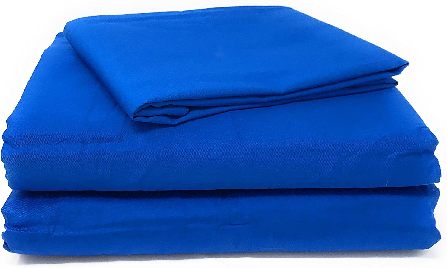 Tache Home Fashion BS3PC-BB-S 2-3 Piece Fitted Sheet Set, Twin, Blue