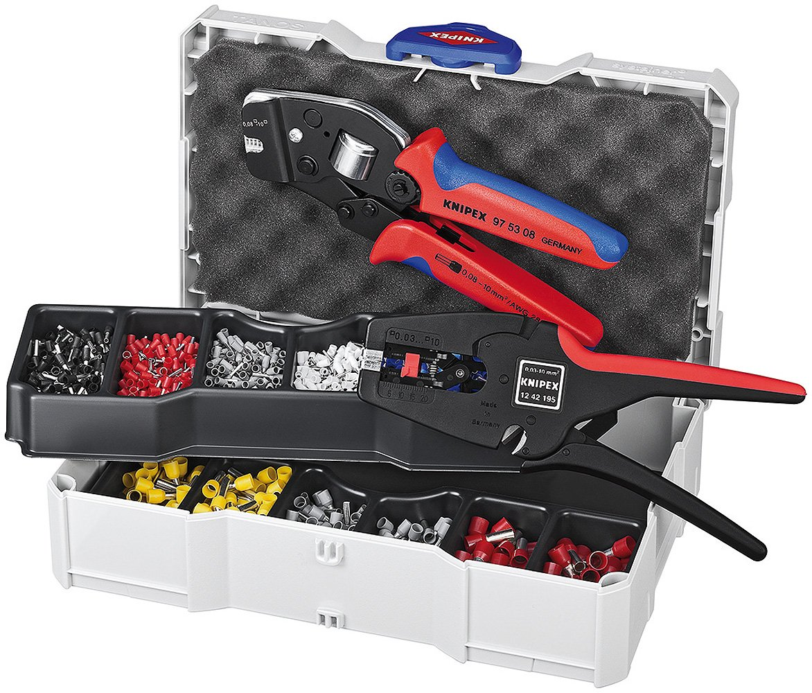Multi-Colour ferrules Knipex 97 90 24 Crimp Assortment for end Sleeves