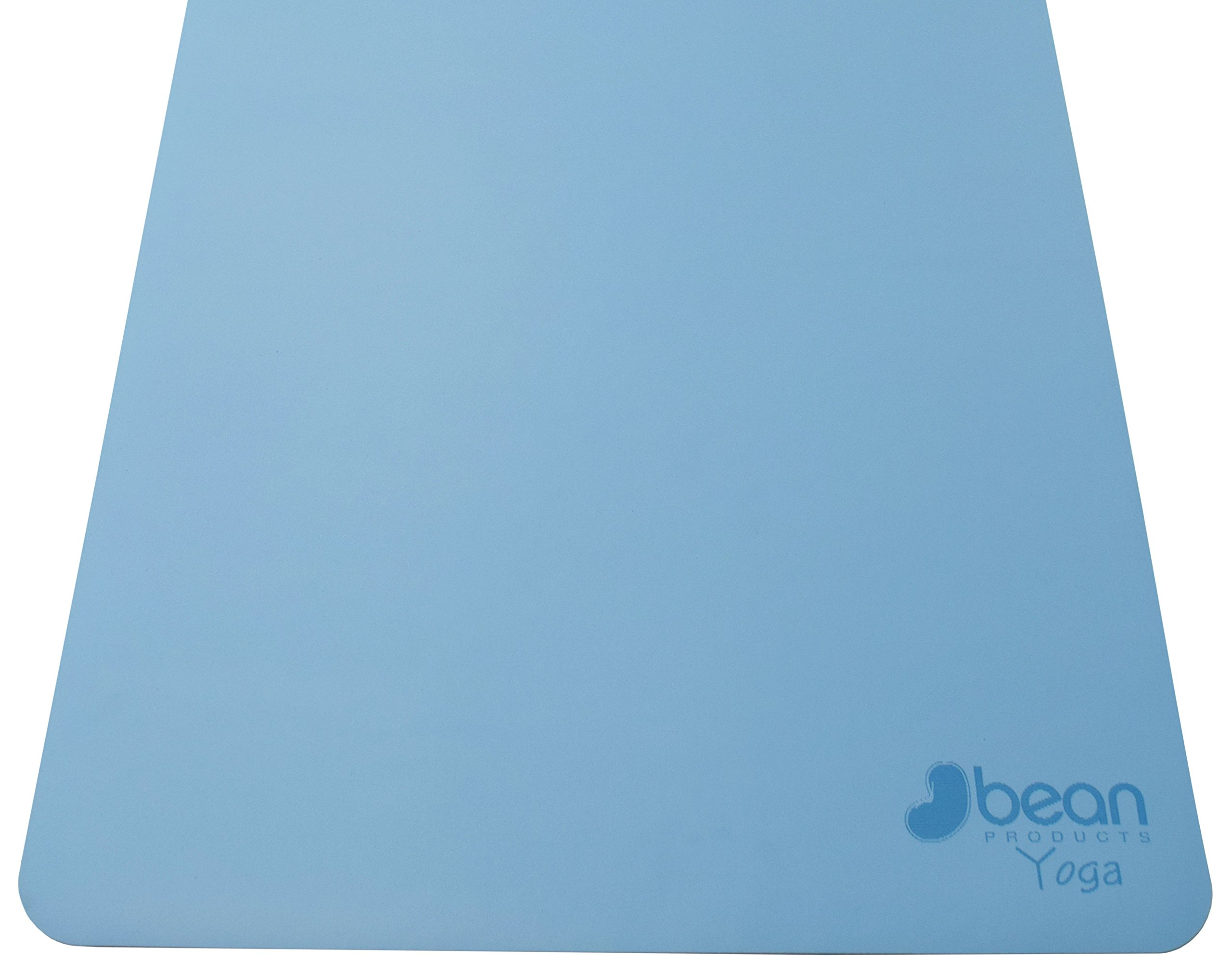 Bean Products Blue Original OMphibian Yoga Mat – The Best Non - Slip (Wet or Dry) Eco-Friendly Natural Rubber Base Yoga Mat from by Bean Products (Image #4)