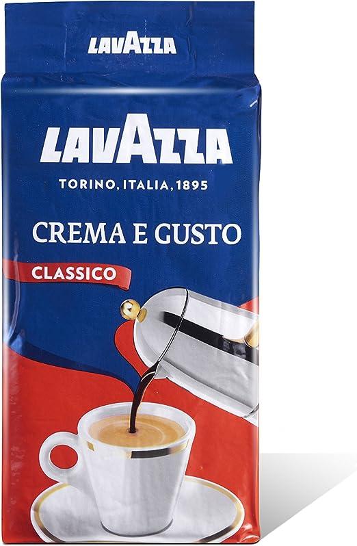 Lavazza Crema e Gusto, Café Molido, también para Cafeteras ...