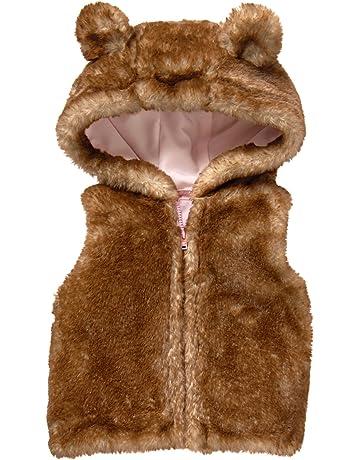 a4b9dcf0c Gymboree Girls' Toddler Hooded Furry Vest