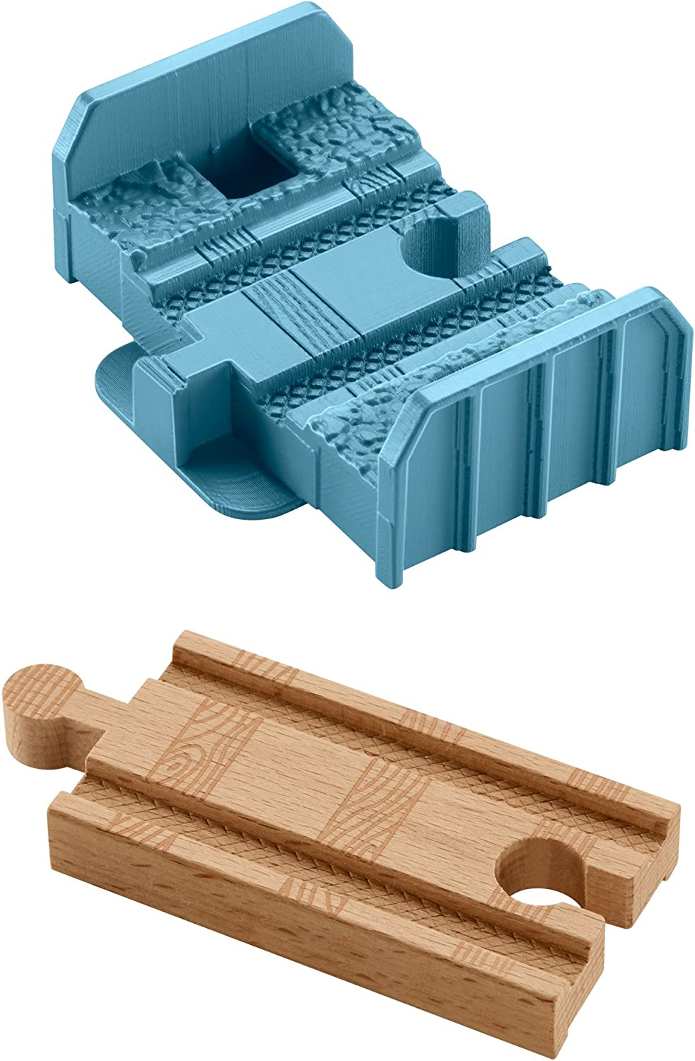 Fisher Price DFW99 Thomas and Friends Wooden Railway Build-it-Higher Track Riser Set