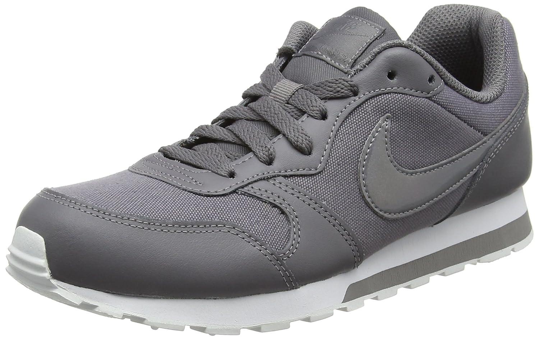 NIKE MD Fille Runner MD 2 GS, Chaussures NIKE de Fitness Fille Multicolore (Gunsmoke/Gunsmoke-white 014) 602f238 - shopssong.space