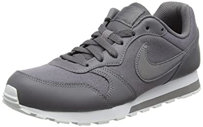 super popular c6e55 bfe86 Nike MD Runner 2 (GS), Chaussures de Running Compétition Femme, Multicolore  Gunsmoke