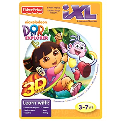 Fisher-Price iXL Learning System Software Dora the Explorer 3D: Toys & Games