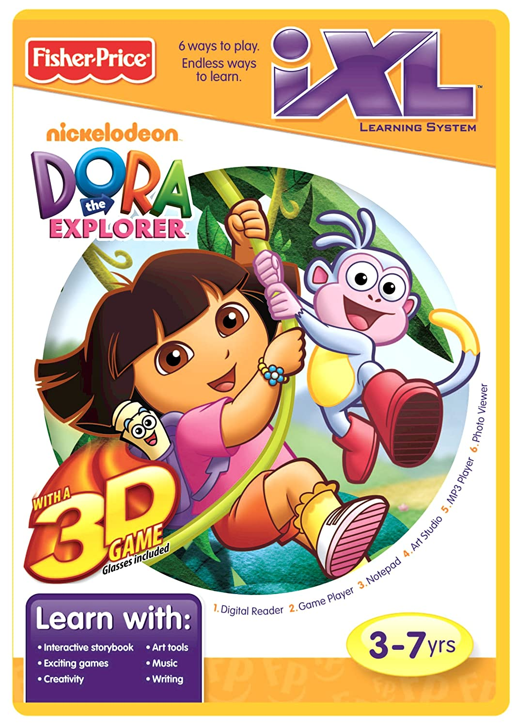 Amazon.com: Fisher-Price iXL Learning System Software Dora the ...